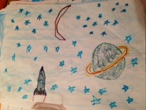 Uma viagem para Saturno!