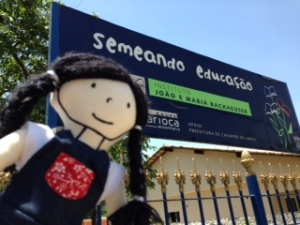 Visita ao projeto Semeando