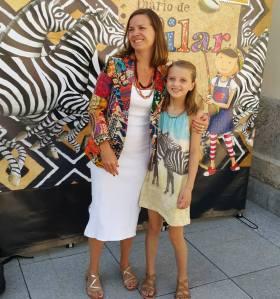 Joana Penna e a filha